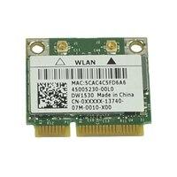 Dell Wireless 1530 (802.11a/b/g /n) Half Mini Card