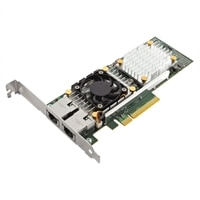 Dell Broadcom Dual Port 10GBASE-T 10 Gigabit Ethernet PCIe Network Interface Card