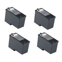 Dell V305/305W 4-Pack Ink Bundle: 4 x High Yield Black Print Cartridge