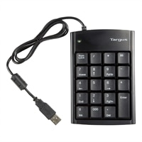 PAUK10U USB Numeric Keypad with 2-port Hub