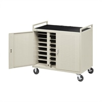 D24CFR Laptop Storage Cart