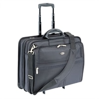 LA TARGUS XL ROLLING NOTEBOOK CASE HOLDS MOST 17IN SCREENS BLACK