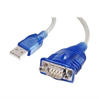 CablesToGo USB to DB9 Serial Adapter Cable - 1.5 ft