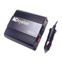 140-Watt AC Anywhere Power Inverter with 1 Outlet