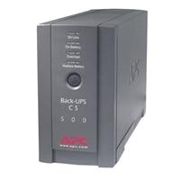 AMERICAN POWER CONVERSION APC APC Back-UPS CS 500VA - UPS - 300 Watt - 500 VA 50/60 Hz AC 120 V 8 hour(s)