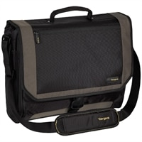 Targus CityGear Miami Messenger Laptop Case - Fits Laptops with Screen Sizes Up to 17.3-inch