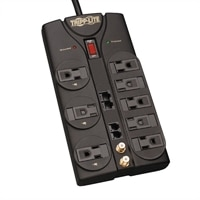 TrippLite 8-Outlet Protect It! Surge Suppressor with 10 ft Cord