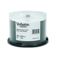 700 MB DataLifePlus CD-R White Inkjet/Hub Printable - 50-Pack Spindle