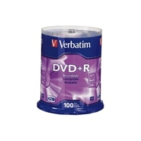 4.7 GB 16X Branded DVD+R Spindle - 100-Pack