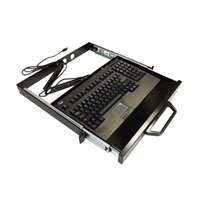 Adesso Rackmount Keyboard Drawer with built-in Touchpad Keyboard ACK-730UB-MRP - Keyboard - rack-mountable - USB