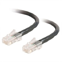 MS - Patch cable - RJ-45 M - RJ-45 M - 25 ft - UTP - CAT 5e - black