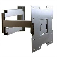 SmartMount Articulating Wall Arm for 22 inch to 40 inch Flat Panel Displays - Silver