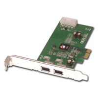 2-Port FireWire PCI Express Adapter - RoHS Compliant