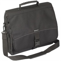 Messenger Laptop Case - Fits Laptops with Screen Sizes up to 15.6-inch - Black