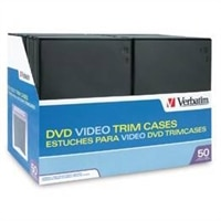 DVD Video Black Trimcase-50 Pack