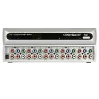 4-Port Component Video Switch with Digital Audio and Remote