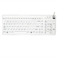 Really Cool Washable Sealed Waterproof Keyboard - Off White