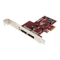 2-Port PCI Express eSATA Controller Adapter Card