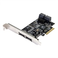 2-Port eSATA and 4-Port SATA II PCI Express x4 SATA Controller Adapter Card
