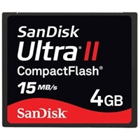 4 GB Ultra II CompactFlash Memory Card