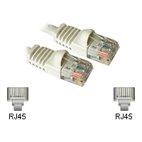 CablesToGo RJ-45 Cat5E Snagless White Patch Cable - 25 ft