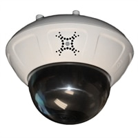 Dome Security Camera with Variable Focus Lens