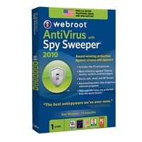 Download-Webroot AntiVirus with Spy  Sweeper - 1 PC Version