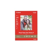 8.5-inch x 11-inch Photo Paper Plus II Glossy Photo Paper - 20 Sheets