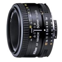 NIKON 50 mm f/1.8D AF Zoom Nikkor Lens