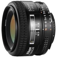NIKON 50 mm f/1.4D AF Zoom Nikkor Lens