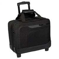 Targus 16-inch Checkpoint-Friendly Mobile Elite Roller Laptop carrying case – Gray / Black
