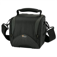 Lowepro Apex 110 AW Case for Camera and Lenses - Black/Gray