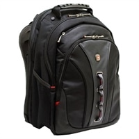 Swiss Gear LEGACY Checkpoint Friendly Backpack - Fits Laptops with Screen Sizes up to 15.6-inch - Black