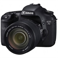 Canon EOS 7D 18MP SLR Camera (with 28-135 mm Lens)