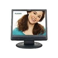 Planar PL1500M - LCD monitor - 15-inch - 1024 x 768 - 250 cd/m2 - 700:1 - 8 ms - VGA - speakers - black