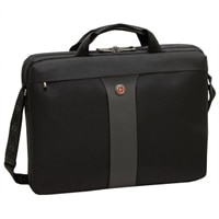 Swiss Gear LEGACY Checkpoint Friendly Slimcase - Fits Laptops of Screen Sizes Up to 17-inch - Black