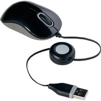 Compact Optical Mouse - Black/Grey