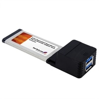 2-Port ExpressCard SuperSpeed USB 3.0 Card Adapter