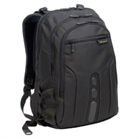 Spruce Ecosmart Backpack - Fits Laptops with Screen Sizes Up to 17-inch - Black Green
