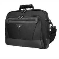 Targus A7 Notebook Sleeve with Shoulder Strap - Fits Laptop with Screen Sizes up to 16-inch - Black