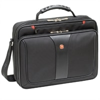 Swiss Gear Legacy Laptop Case - Fits Laptops with Screen Sizes Up to 16-inch - Black