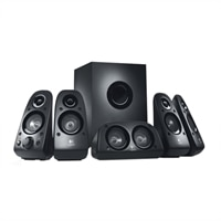 Logitech Z-506 - Speaker system - for PC - 5.1-channel - 75-watt (total)