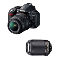 Nikon D3100 14.2MP SLR Camera Kit with AF-S DX 55-200mm VR Zoom-Nikkor Lens