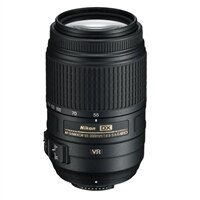 AF-S 55-300mm f/4.5-5.6G ED VR Nikkor Zoom Lens