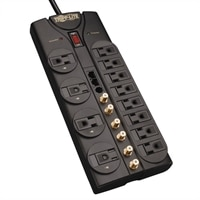 TrippLite 12-Outlet Home/Business Theater Surge Suppressor