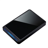 Buffalo MiniStation Stealth External Hard Drive - 500 GB USB 2.0 Portable Drive