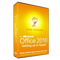 Download - Total Training for Microsoft Office 2010: Getting Up to Speed - self-training course