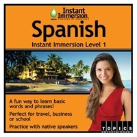 Instant Immersion Spanish Level 1 - License - 1 user - download - Win