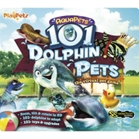 AquaPets 101 DolphinPets - Complete package - PC - CD - Win, Mac