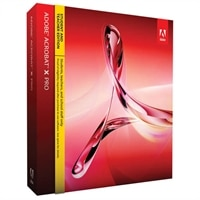 Adobe Acrobat X Pro Student and Teacher Edition for Windows